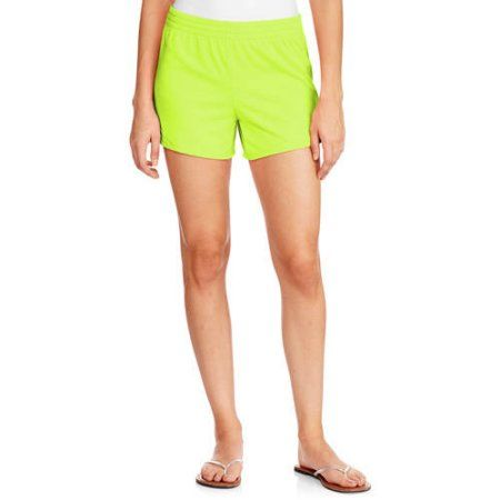 Danskin Now Women's Knit Shorts, Size: Small, Yellow