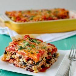 Mexican Lasagna, Vegetarian