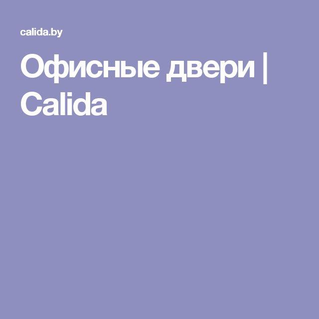Офисные двери | Calida