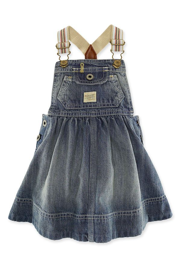 10 Best ideas about Girls Denim Dress on Pinterest  Baby girl ...