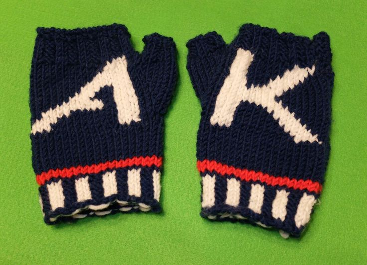 160100 Knitted Mittons for my boy - AK