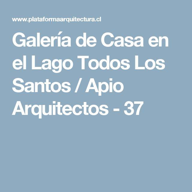 Galería de Casa en el Lago Todos Los Santos / Apio Arquitectos - 37