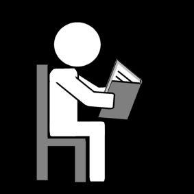 zittend lezen  sclera