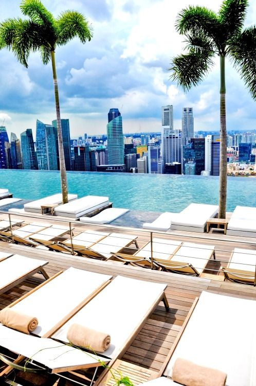 Marina Bay Sands Skypark Infinity Pool, Singapore