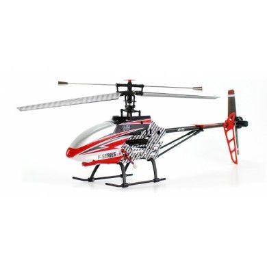 Zdalnie sterowany Helikopter F645 4CH 2,4GHz MJX o ciekawym wyglądzie jest bardzo wytrzymały na wstrząsy czy upadki dzięki zastosowaniu odpowiednich trwałych materiałów takich jak chociażby aluminium. Opis, dane techniczne, komentarze oraz film Video znajdziesz na naszej stronie, nie ma jeszcze komentarzy, to czemu nie zostawisz swojego:)