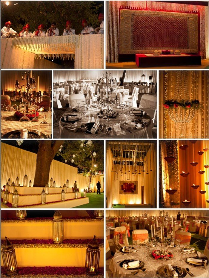 Kareena Kapoor and Saif ali Khan's Wedding Reception decor styled by Good Earth's interior design division, Charbagh! <3