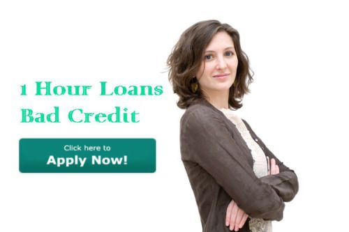 1 hour loans bad credits are a best way for the salaried individuals who are in need of short term financial support during urgent situation time.