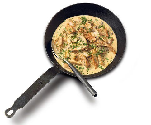 Zürcher Geschnetzeltes - Rezept - Saisonküche