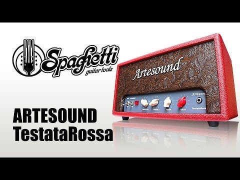 Raffaele Carano Demo Video ARTESOUND Testata Rossa www.spaghettiguitartools.com