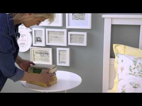 Make a super stylish bedside display
