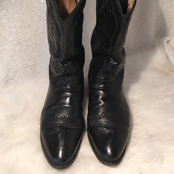 Tony lama western men's boots size 9EEE Looks nice just got polished today ,has…