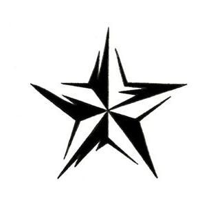 tribal_nautical_star__tattoo_design_32.jpg (310×310)