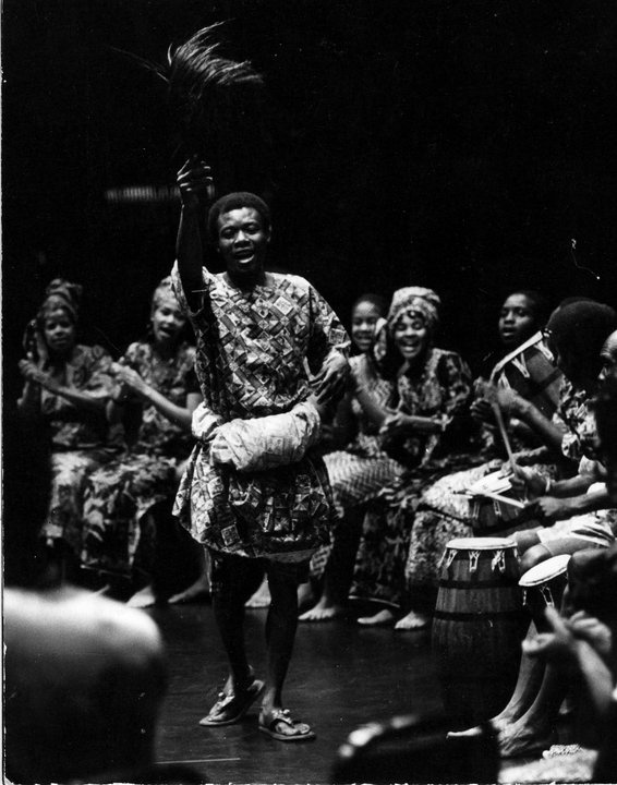 CK Ladzekpo & African Dance Ensemble
