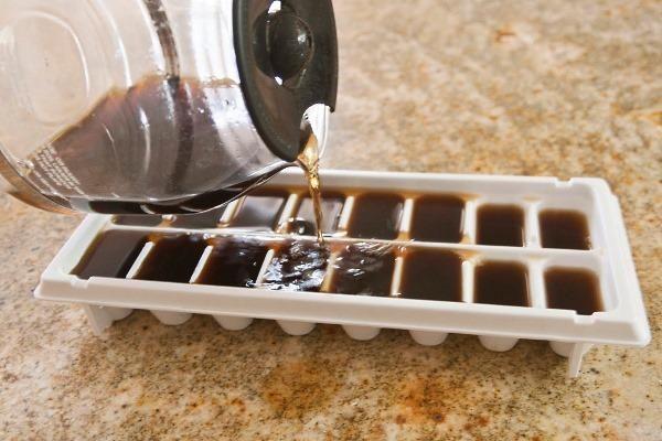 Kawowe kostki lodu