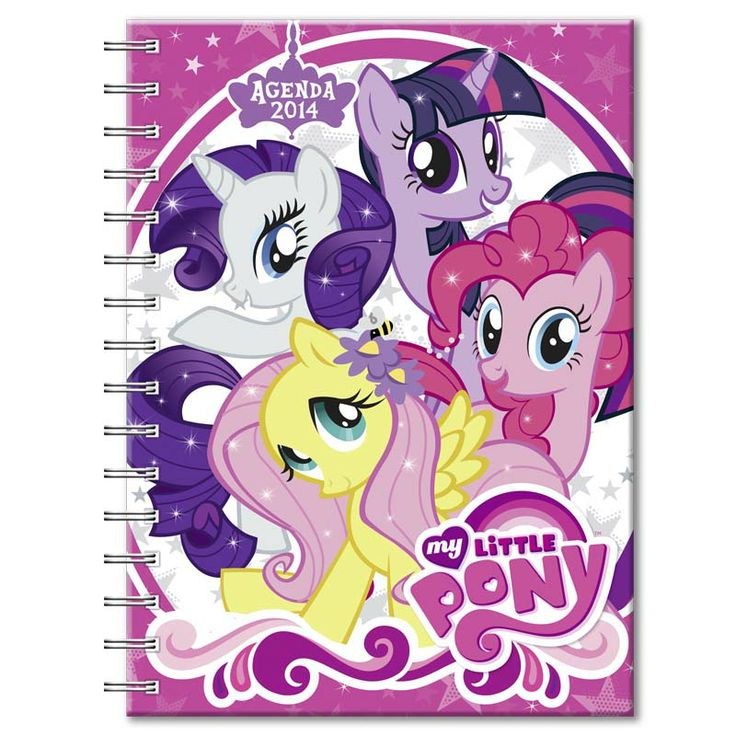 My Little Pony Metal Toy Storage Unit Box Organiser Kids: Agenda My Little Pony #2014 #PROARTE.