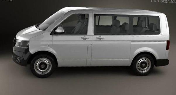 Transporter Kombi Volkswagen tuning - http://autotras.com