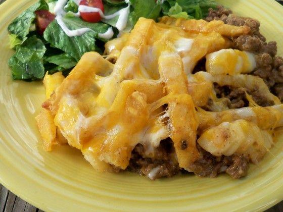 Cheeseburger And Fries Casserole II Recipe - Food.com