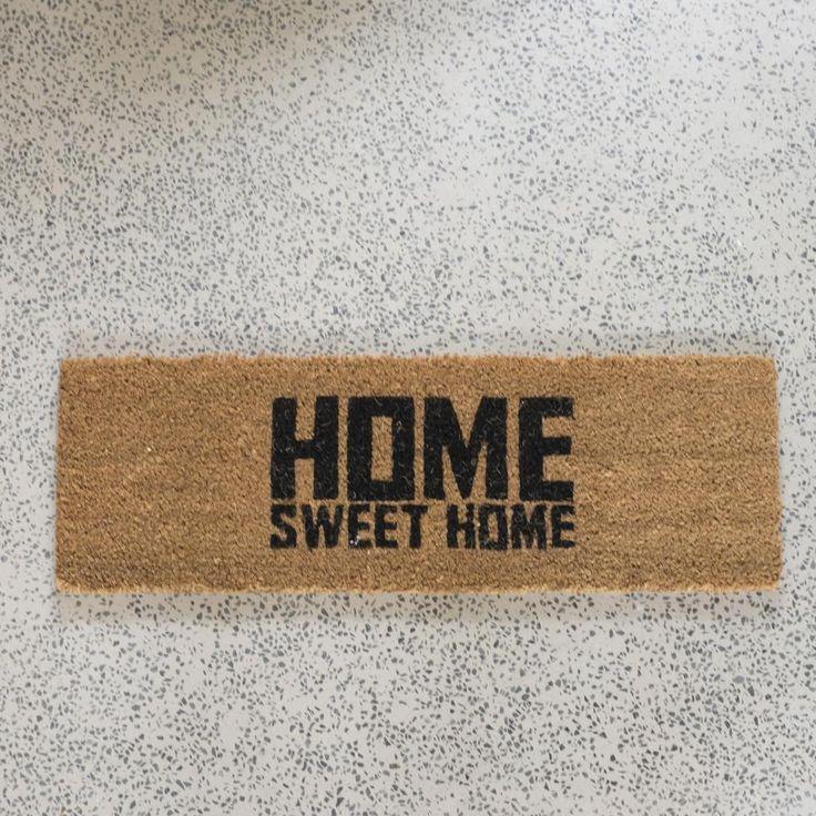Home Sweet Home Door Mat