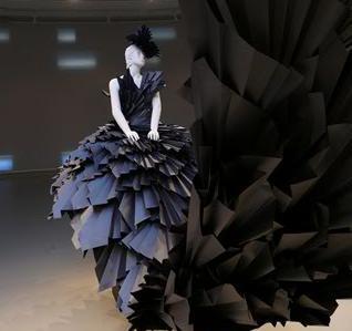 Zoe bradley paper dresses fashion