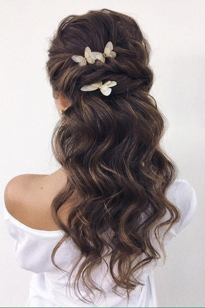#weddings #hairstyles #bridalhairstyle #weddinghairhalfup #weddinghairro