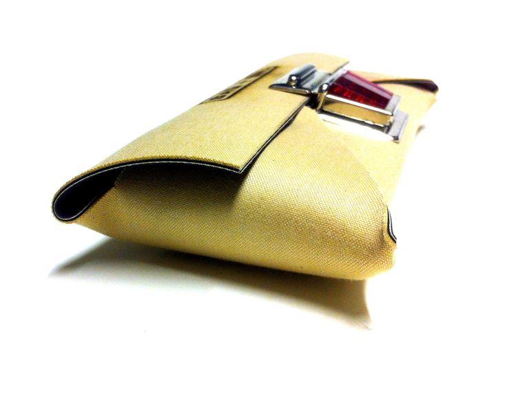 Super Schöne Tasche Aus Altem Offset Gummituch!