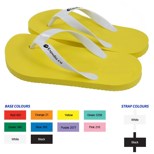Flip Flop - Strap Print - quality promotional products from a truly Canadian company - from My Next Promo