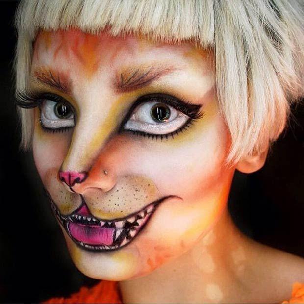 kitty halloween makeup ideas