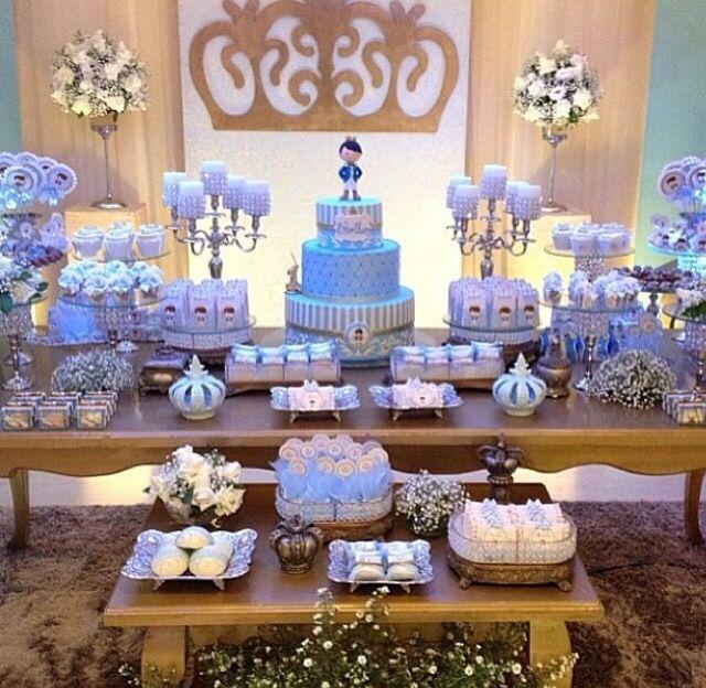 Decoração de mesa; príncipe   Festas   Madame Inspiração