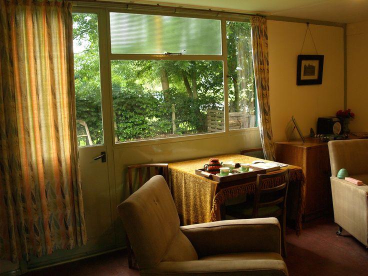 Arcon mk.V Pre-Fab Living room - Avoncroft Museum