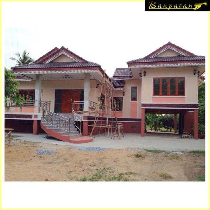 Thai architecture house design in Singhaburi Province Thailand     33 best Thai house architecture images on Pinterest   Thai house  . Thai Home Design. Home Design Ideas