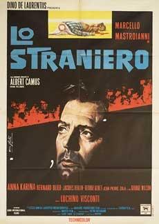 Posteritati: STRANGER, THE (Straniero, Lo) 1968 Italian 39x55