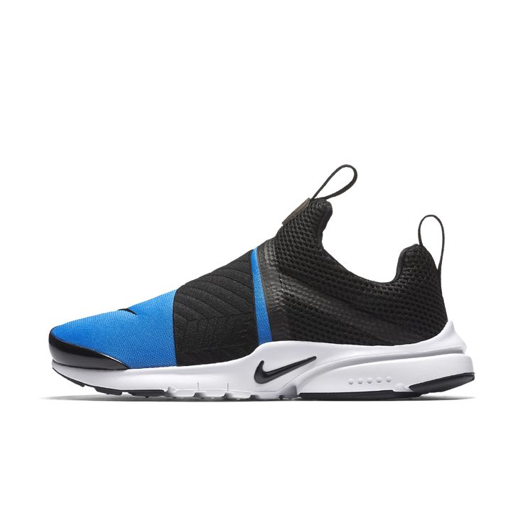 Nike Presto Extreme Big Kids' Shoe Size 4Y (Blue)