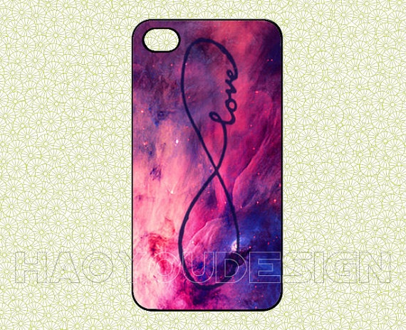 INFINITE LOVE Galaxy iPhone 4 CaseiPhone 4 4g 4s by haoyoudesign, $6.99