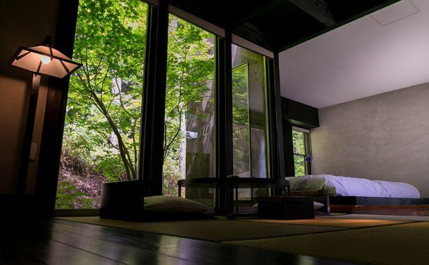 客室「樹」佐賀県 奥武雄温泉|風の森