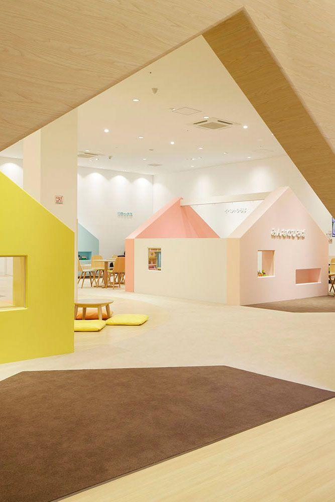 エマニュエル・ムホーによる、親子のための室内遊び場「mama smile」 | architecturephoto.net | 建築・デザイン・アートの新しいメディア。アーキテクチャーフォト・ネット
