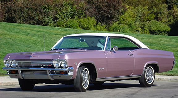 1965 CHEVROLET IMPALA SS 409 SPORT COUPE - EXTREMELY RARE EXAMPLE!