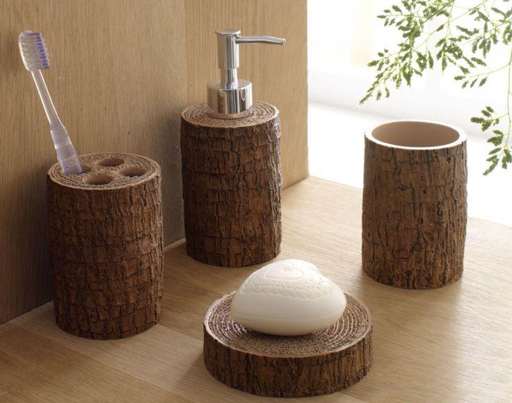 accessoires salle de bain nature - Accessoire Salle De Bain Zen