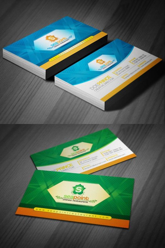 Business Card For Hotel And Resort