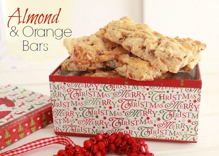 Threadbare Creations- Almond & Orange Bars Recipe