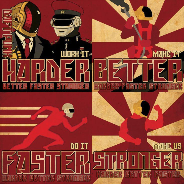 Daft Punk Propaganda CD by ediskrad-studios.deviantart.com on @DeviantArt