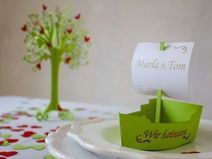 Hochzeitsdekoration Schiff