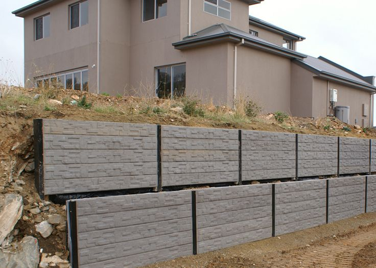 Concrete Sleepers Retaining Walls Mt Barker