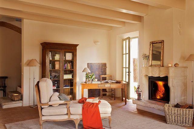Jurnal de design interior - Amenajări interioare, decorațiuni și inspirație pentru casa ta: Amenajare provensală într-o casă din Spania