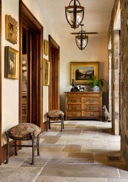 Stone Tile Floor Design really love the different sizes