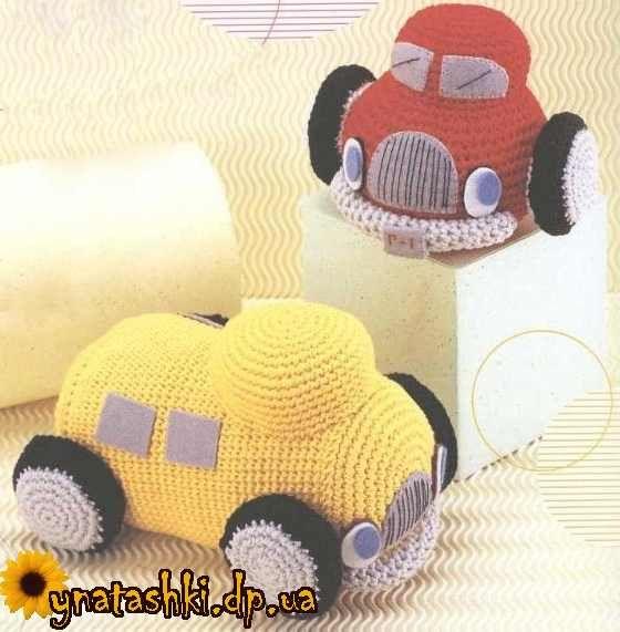Amigurumi Trucks - FREE Crochet Pattern / Tutorial (Chart)
