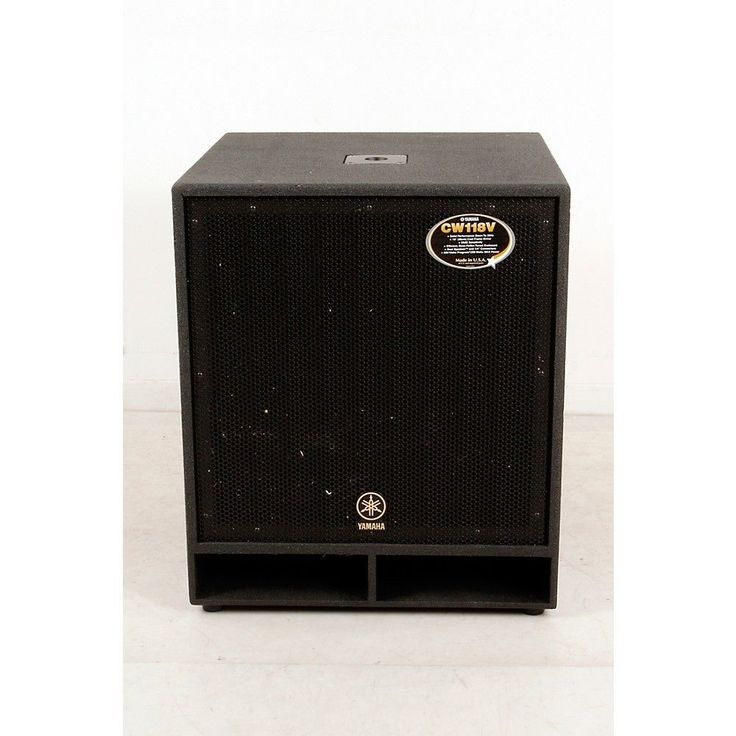 Yamaha CW118V 18 In. Club Concert Series Subwoofer Speaker 888366001042