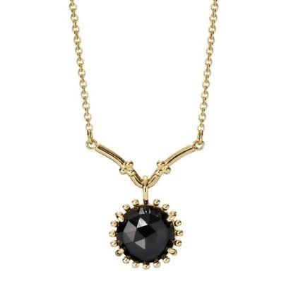 Pandora 14 Carat Gold Melanite Chain