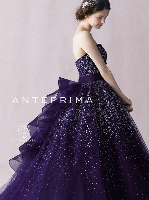 アクア・グラツィエがセレクトした、ANTEPRIMA(アンテプリマ)のウェディングドレス、ANT0112をご紹介いたします。
