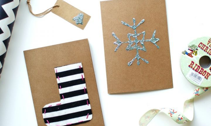 Gather the kids and get to work on these fun and crafty Christmas cards! They're the perfect way to send thoughtful Christmas greetings to your loved ones.