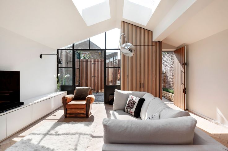 Skylights really do help to open up smaller spaces  See more on Trends Ideas